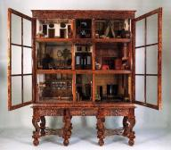 An example of one of the 17th century dolls houses held in the Rijksmuseum, Amsterdam which inspired the story